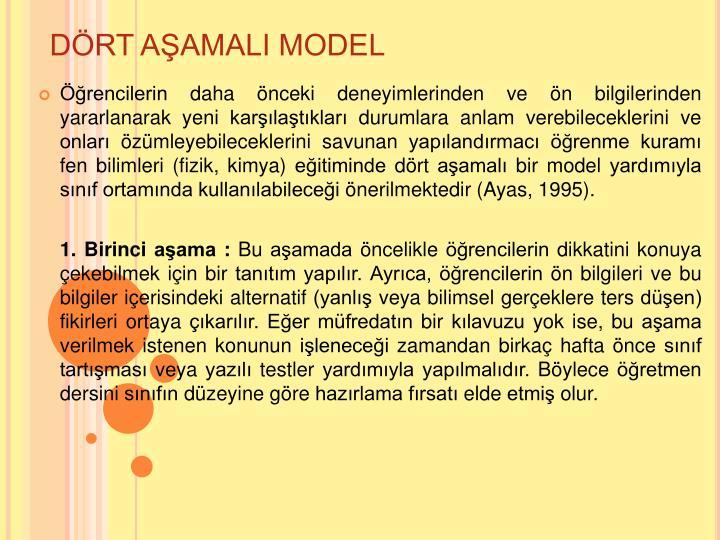 DRT AAMALI MODEL