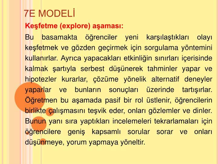 7E MODEL