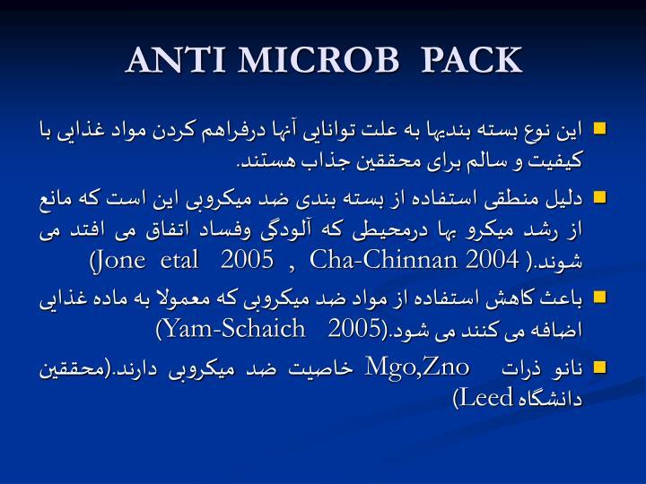ANTI MICROB  PACK