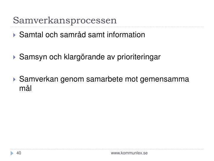 Samverkansprocessen
