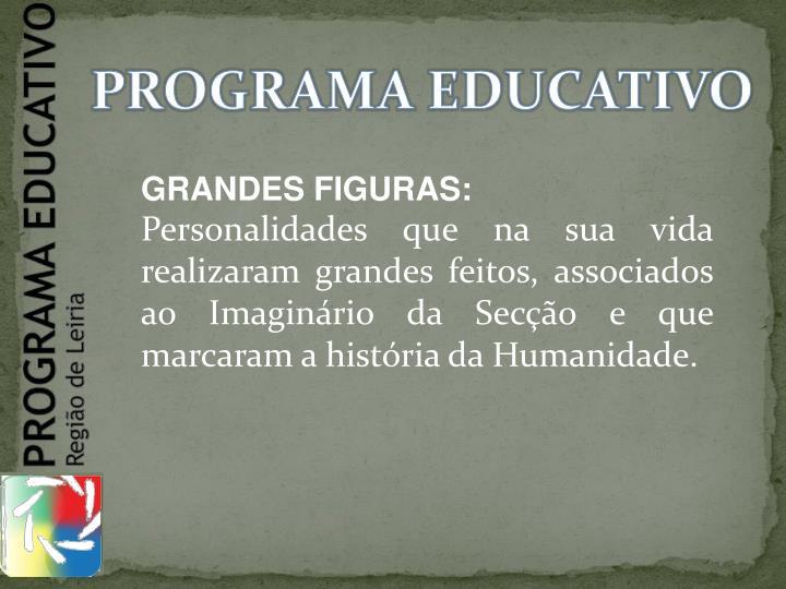 PROGRAMA EDUCATIVO
