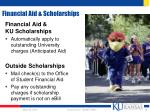 financial aid scholarships