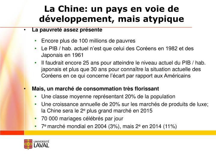 La Chine: