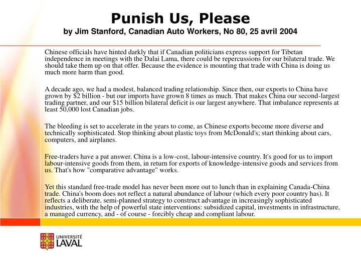 Punish Us, Please