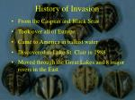 history of invasion12