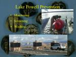 lake powell prevention