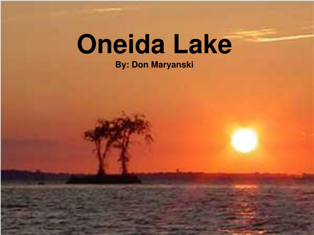 oneida lake by don maryanski