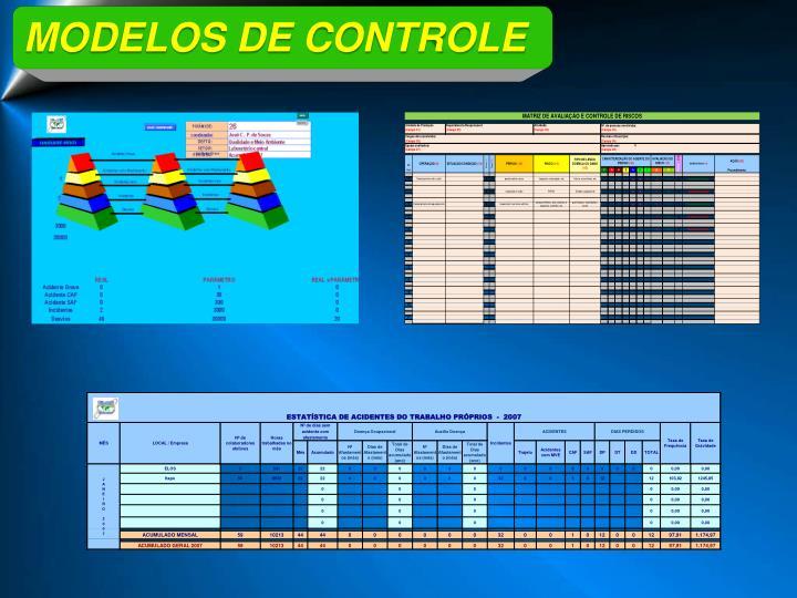 MODELOS DE CONTROLE