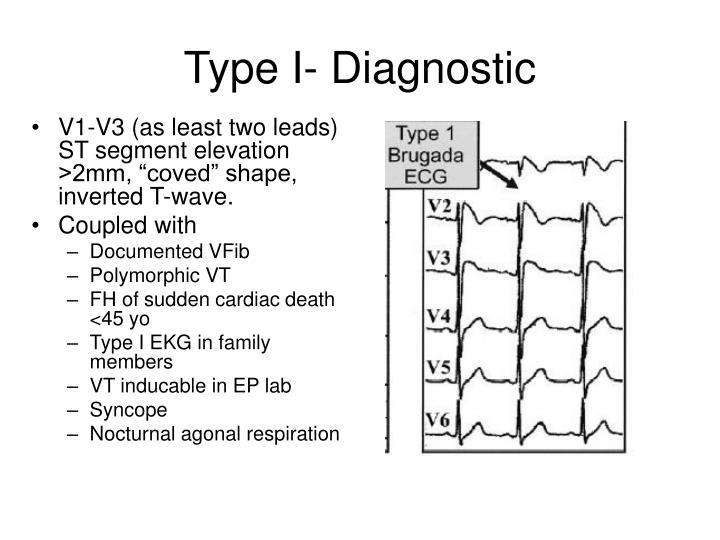 Type I- Diagnostic