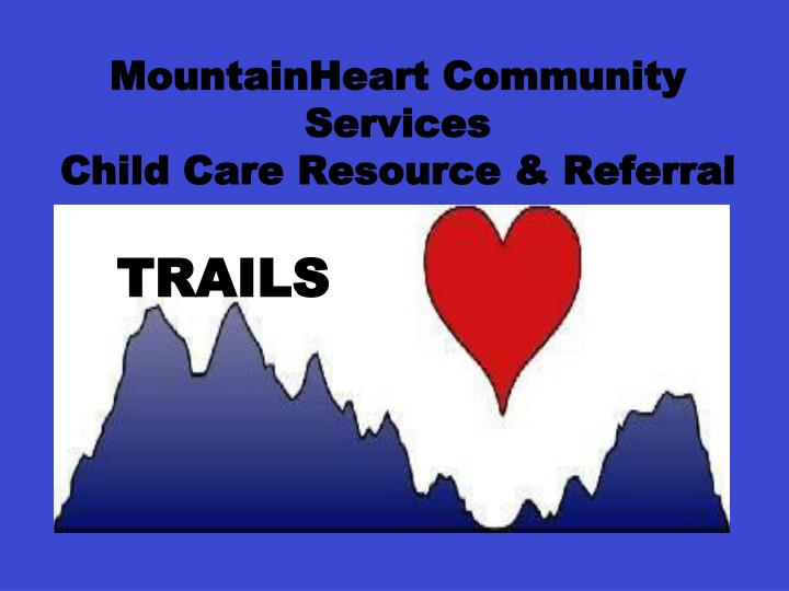 MountainHeart Community   Services