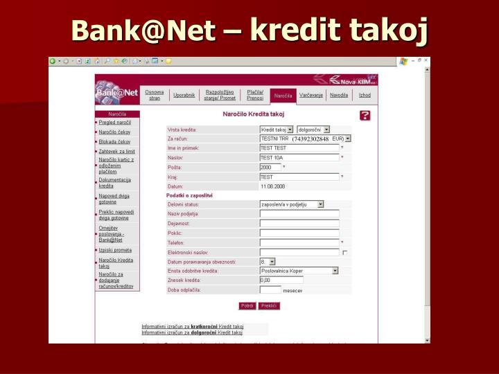 Bank@Net –