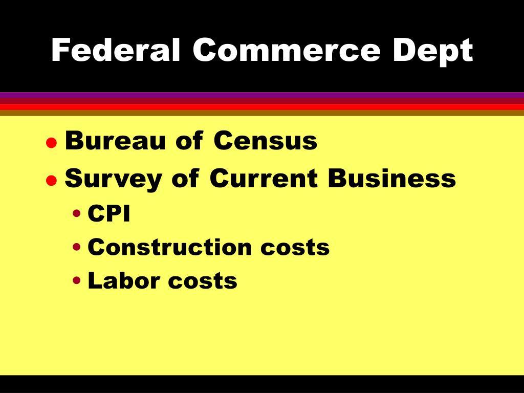 Federal Commerce Dept