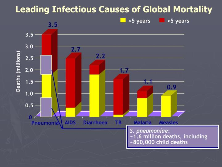 Leading Infectious Causes of Global Mortality