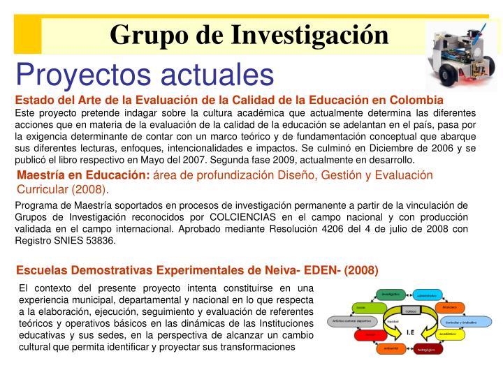 Grupo de Investigación