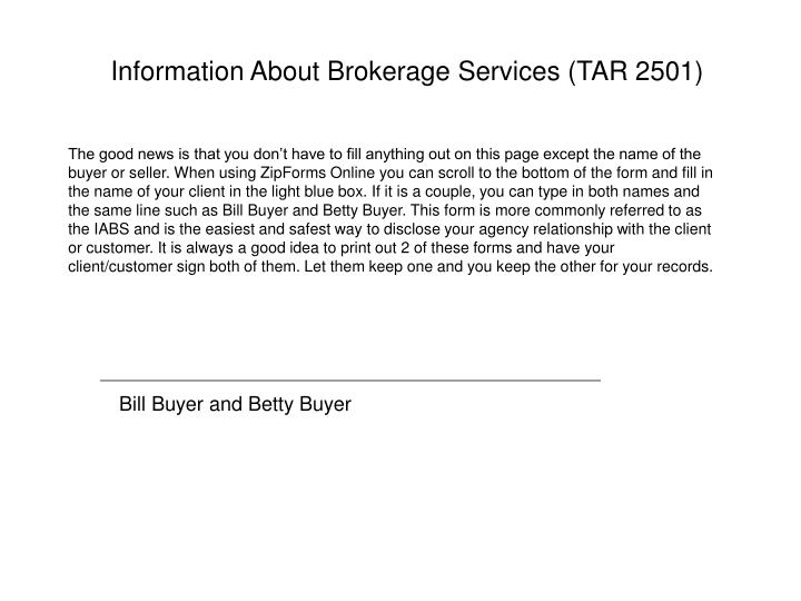 Information about brokerage services tar 2501 l.jpg