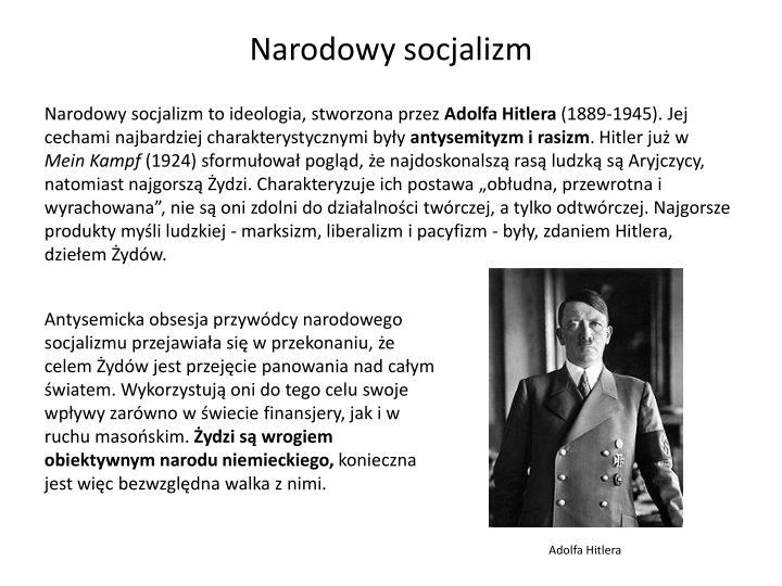 Narodowy socjalizm