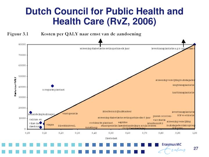 Dutch Council for Public Health and Health Care (RvZ, 2006)