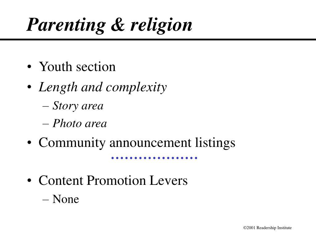 Parenting & religion