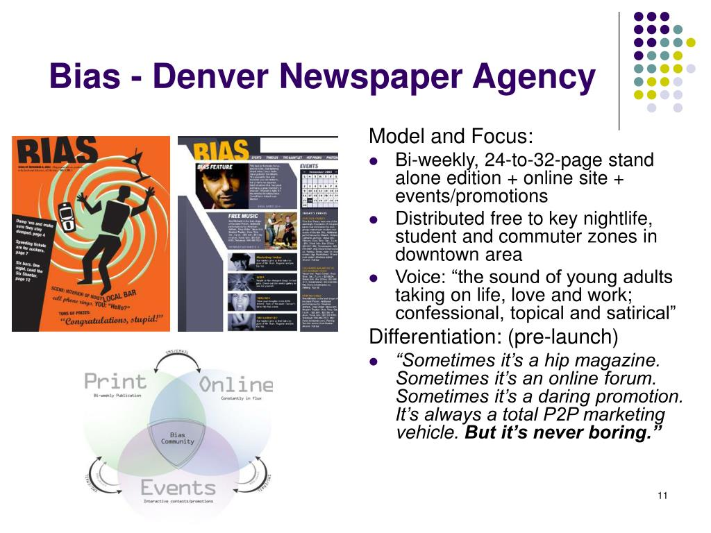 Bias - Denver Newspaper Agency