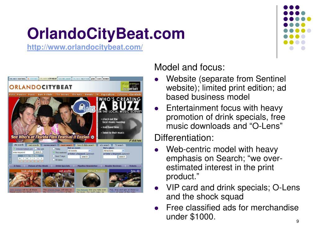 OrlandoCityBeat.com