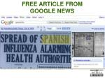 free article from google news