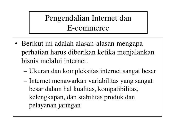 Pengendalian Internet dan