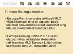 euroopa n ukogu soovitus