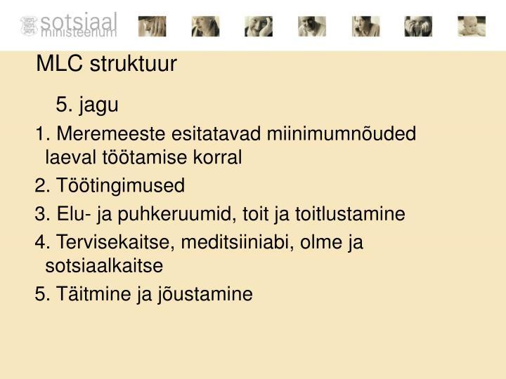 MLC struktuur