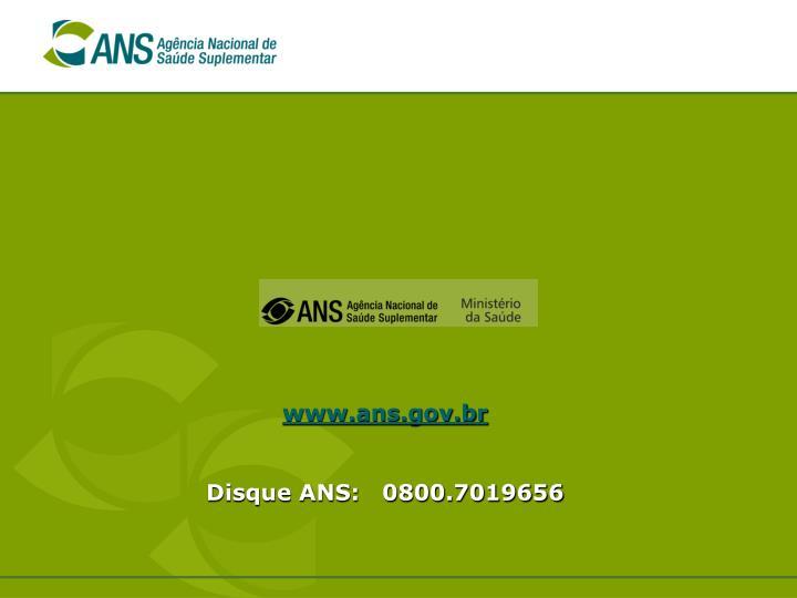 www.ans.gov.br