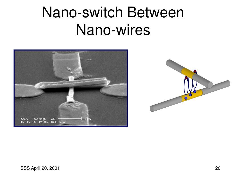 Nano-switch Between Nano-wires