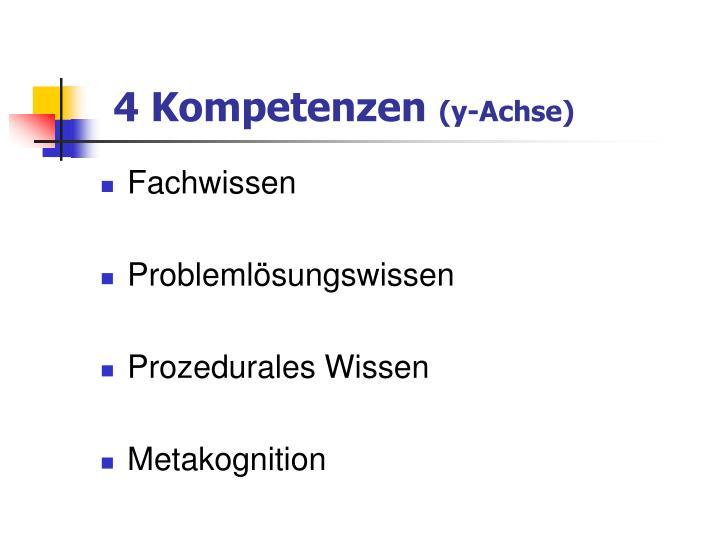 4 Kompetenzen