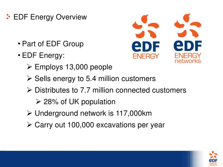 EDF Energy Overview