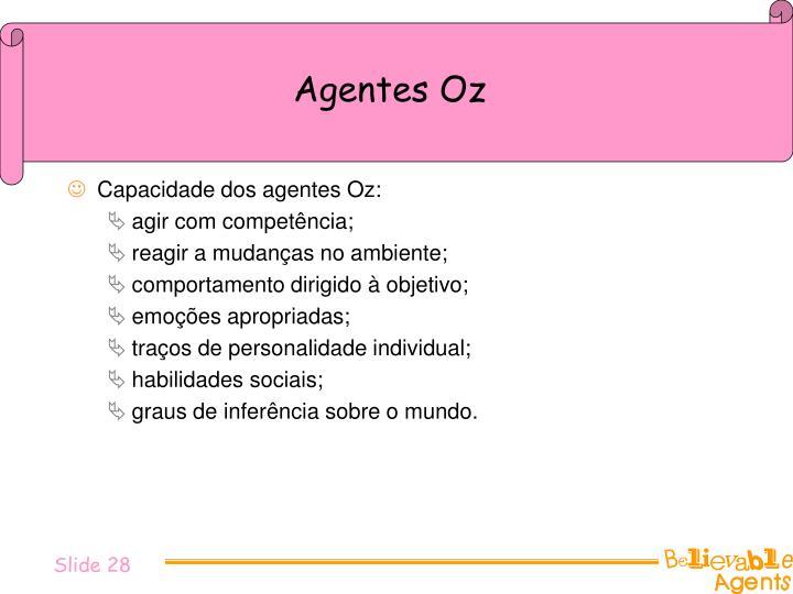 Agentes Oz