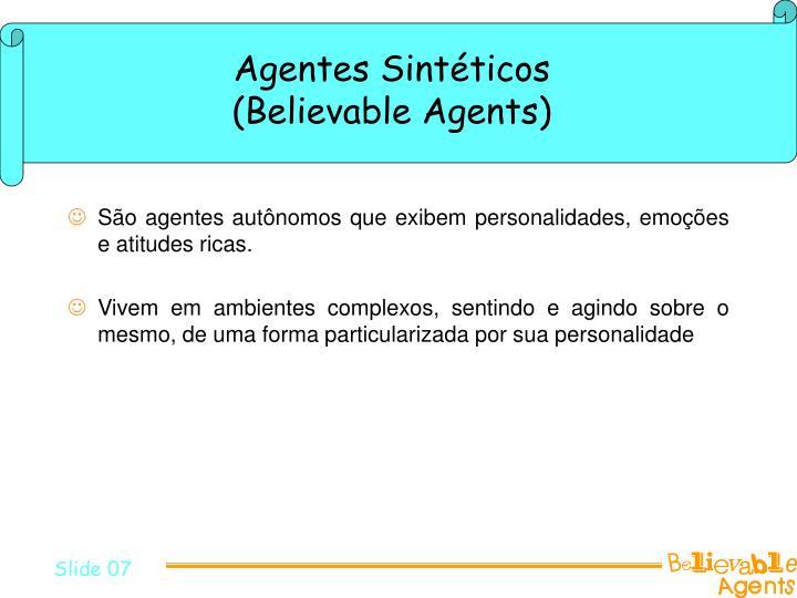 Agentes Sintéticos