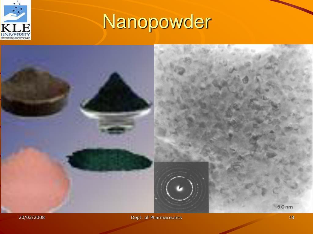Nanopowder