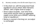 e monetary neutrality in the ad as model figure 9 14