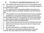 iii the lm curve asset market equilibrium sec 9 3