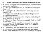 iv general equilibrium in the complete is lm model sec 9 4