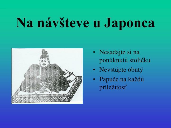 Na návšteve u Japonca