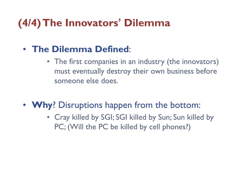 (4/4) The Innovators