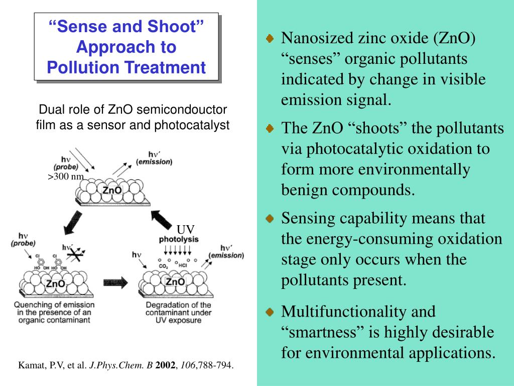 """Sense and Shoot"" Approach to Pollution Treatment"