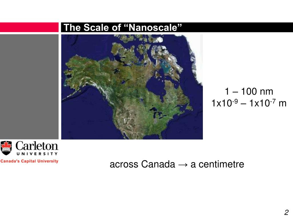 "The Scale of ""Nanoscale"""