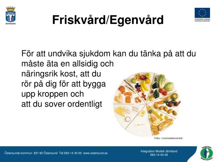 Foto: Livsmedelsverket