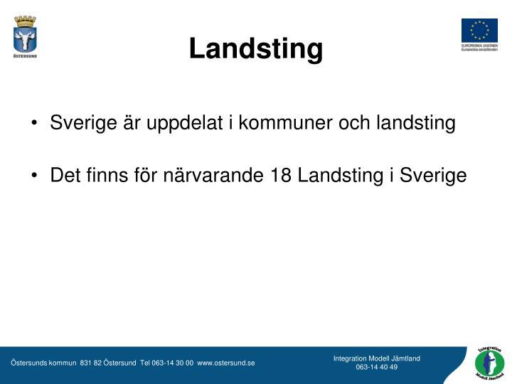 Landsting