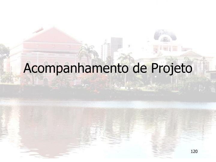Acompanhamento de Projeto
