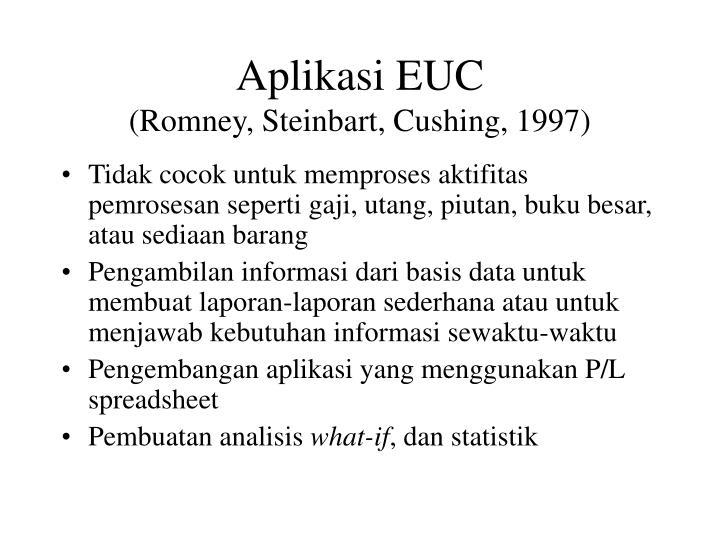 Aplikasi EUC