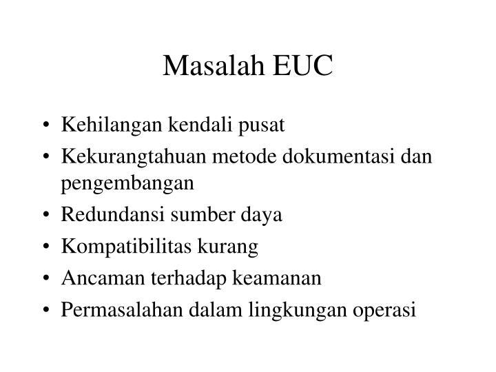 Masalah EUC