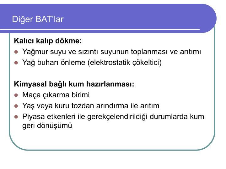 Diğer BAT'lar