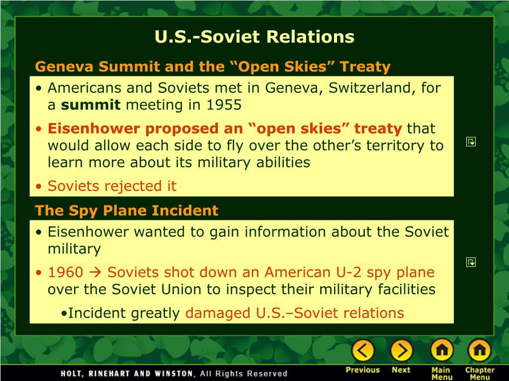 U.S.-Soviet Relations