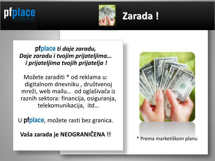 Zarada